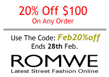 Romwe-latest high street fashion online