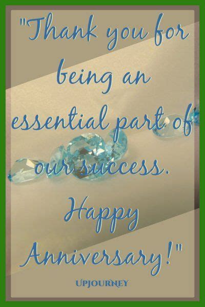 50 [HAPPY] Work Anniversary Quotes   Deep Inspirational