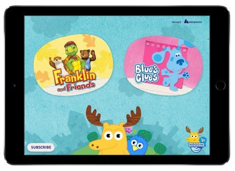 Viacom-owned kids streaming service Noggin acquires educational app Sparkler