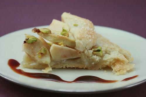 """Funny in Farsi"" Apple Rose Water Pie"