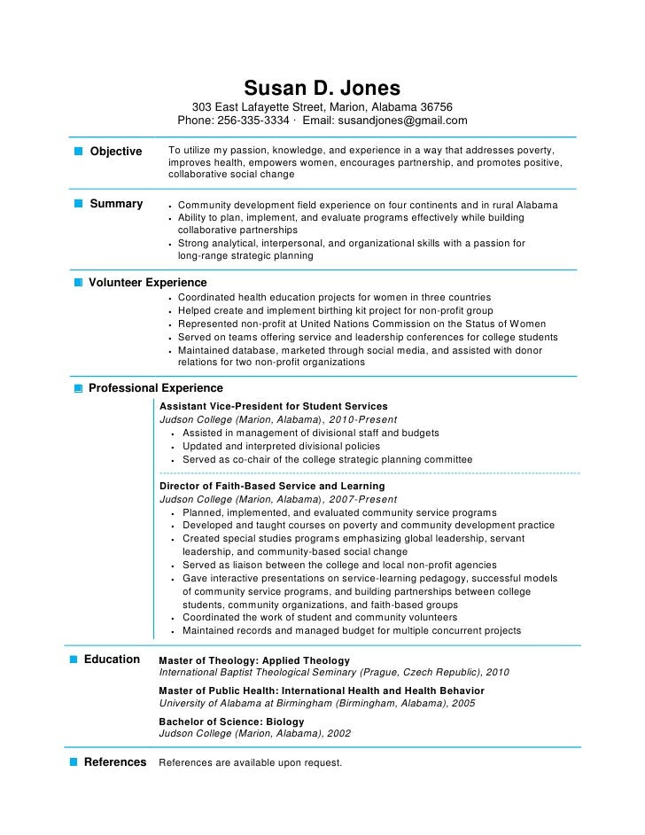one page resume 1 728