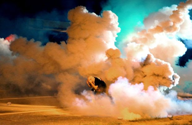 Violence again in Ferguson