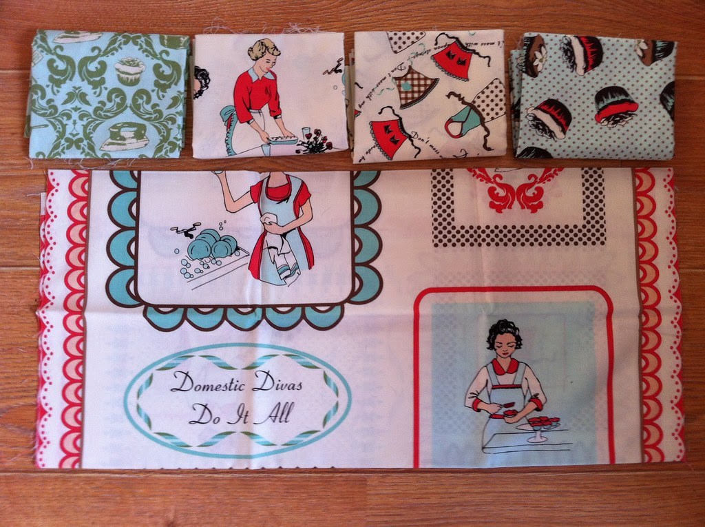 Domestic Diva by Riley Blake - For Swap
