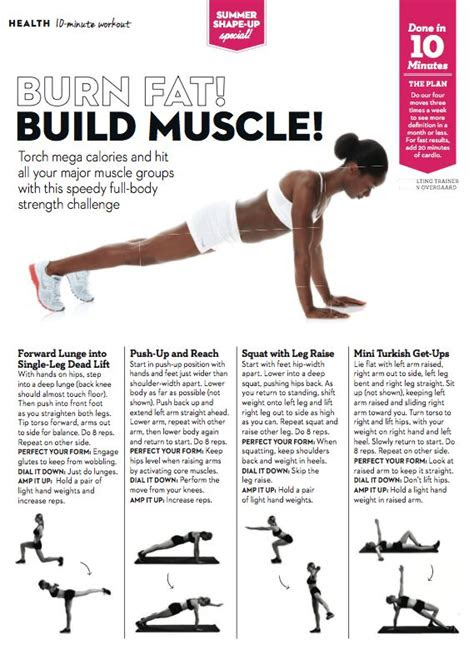 easy exercises  burn fat  build muscle exercises
