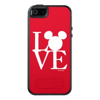 Mickey Mouse LOVE | Valentine's Day 3 OtterBox iPhone 5/5s/SE Case