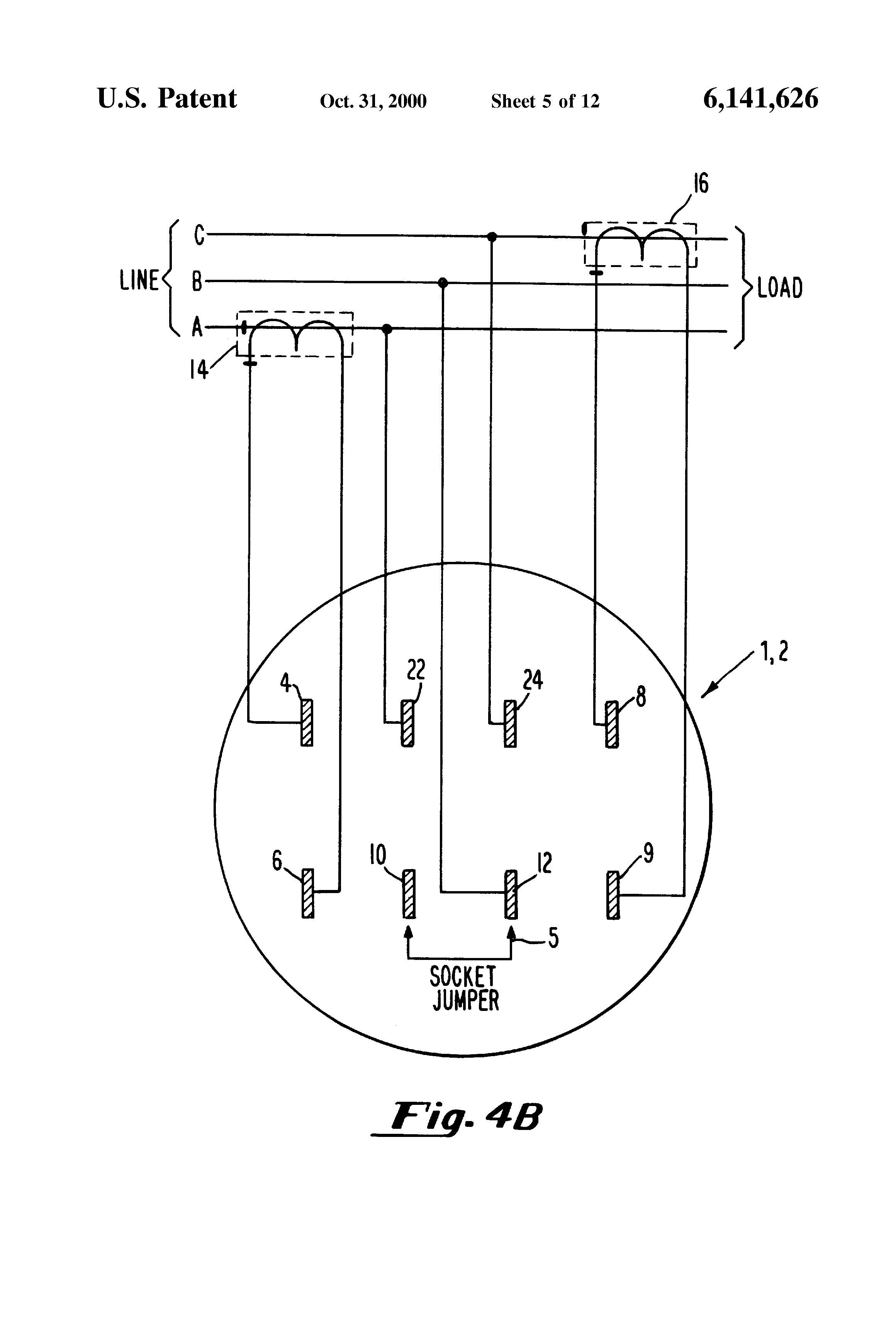 Meralco Meter Base Wiring Diagram