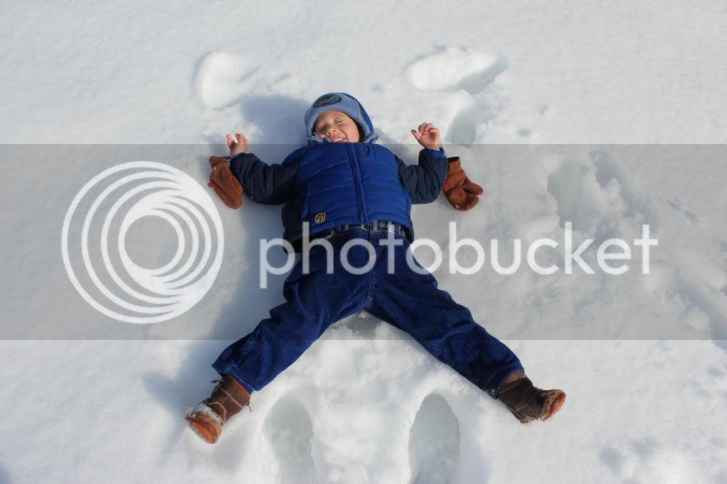 March Break snow