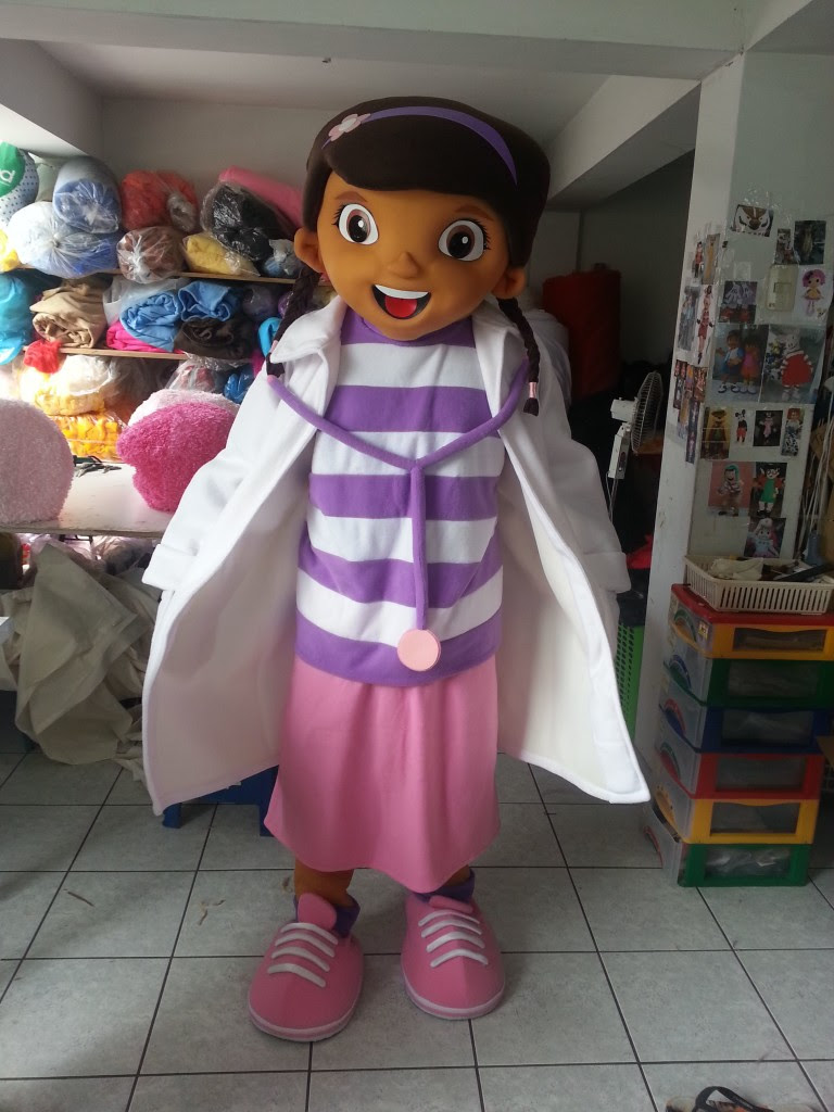 kid's birthday party character mascot costume rental