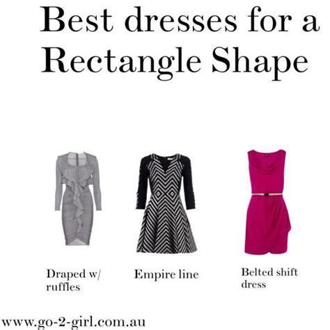 Best 25  Rectangle body shapes ideas on Pinterest