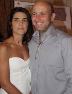 O milionário Sérgio Côrtes e a mulher Verônica, no nome de quem colocou sua mansão