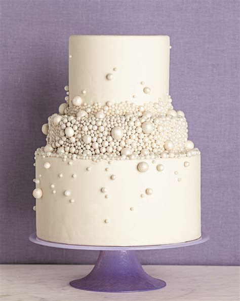 Pearls cake white   like the small tiers   Cake   Wedding