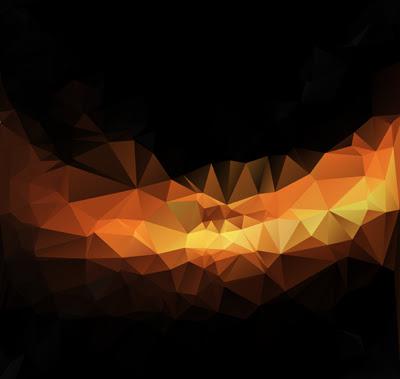 Orange polygon