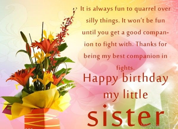 Happy Birthday My Little Sister Pictures Photos And Images For