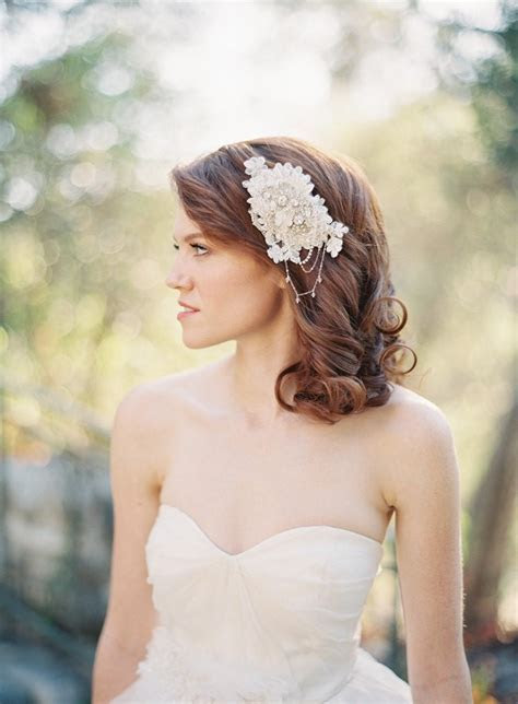 25 Perfect Hair Accessories for a Vintage Bride : Chic