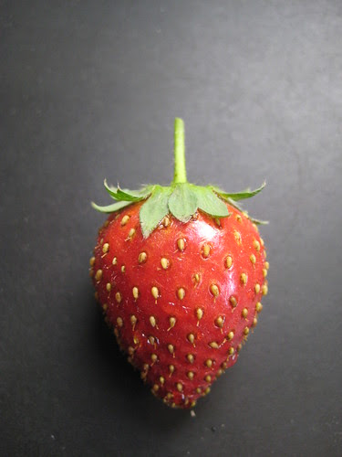 homegrown strawberry