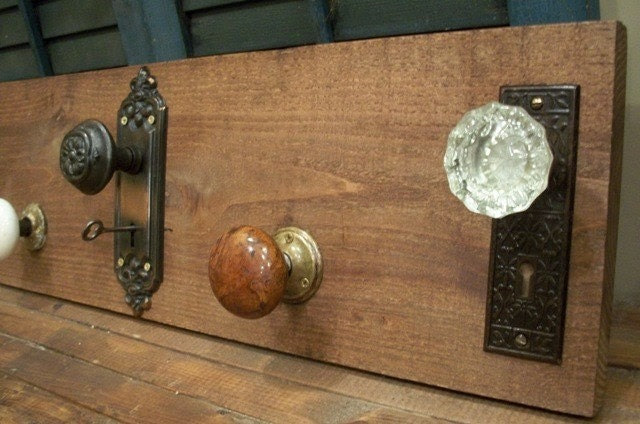 Vintage Treasures Door Knob Coat Rack