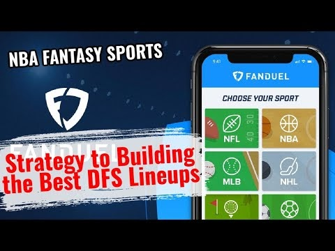 Best FanDuel Daily Fantasy Lineups w/ Special Guest  Fontaines 5 DFS and...