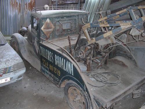 Ford AA grua a Badalona