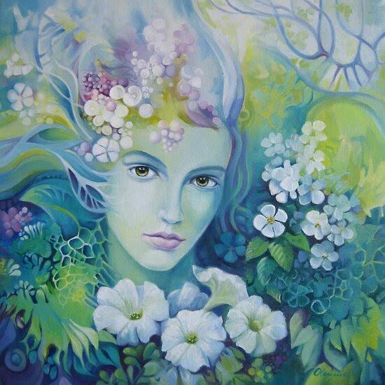 Oil Paintings: Spring by Elena Oleniuc