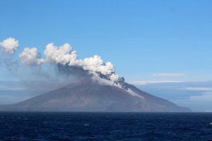 June, 2016 Mt. Curry Erupting