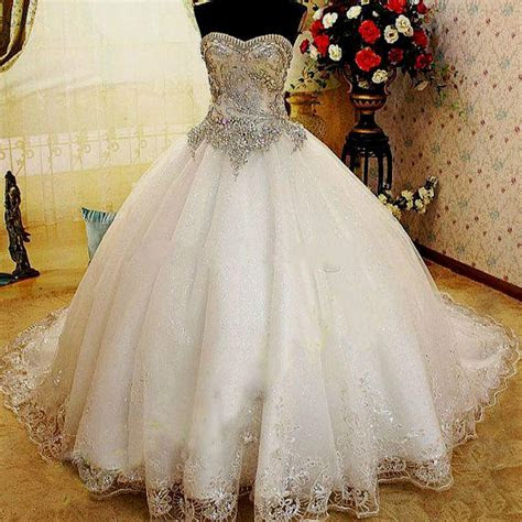 Ball gown wedding dresses with bling   SandiegoTowingca.com