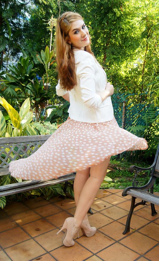 Asymmetrical skirt by The Joy of Fashion (12)