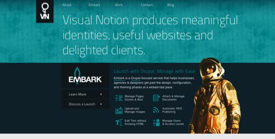 darksites08 50 Diseños web oscuros para inspirarte