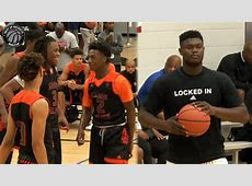 Zion Williamson vs the Best AAU Team in the Nation! Full