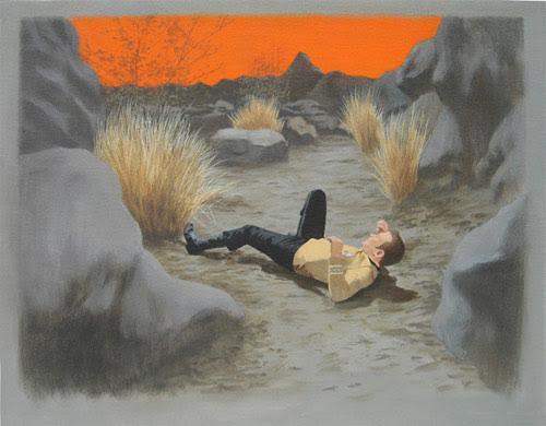 luke butler enterprise star trek painter painting artist