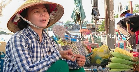 Vietnam || Tam Binh Rural Market || Vinh Long Province