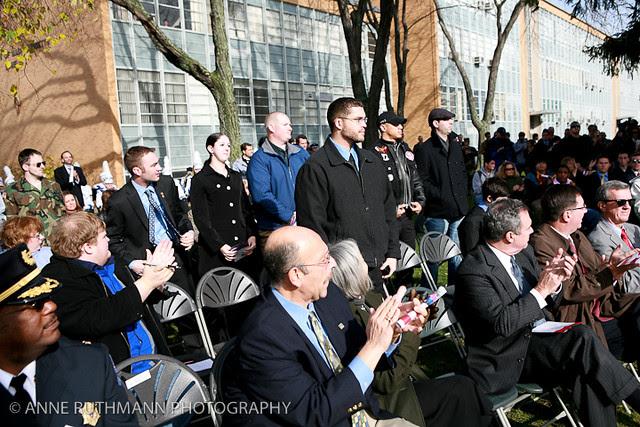 Honoring Veterans Flag Raising-03