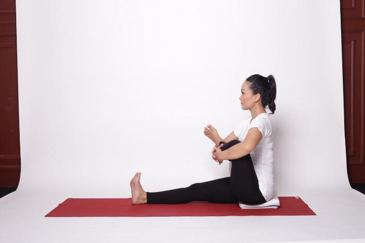 Ketika saya mengajar untuk para bidan di pelatihan prenatal gentle yoga Ligamen Sacrotuberous; kunci atasi persalinan yang Lama dan panjang