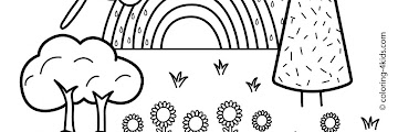 Nature Free Printable Coloring Pages For Kids