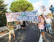 Proteste contro la nuova discarica (Jpeg)