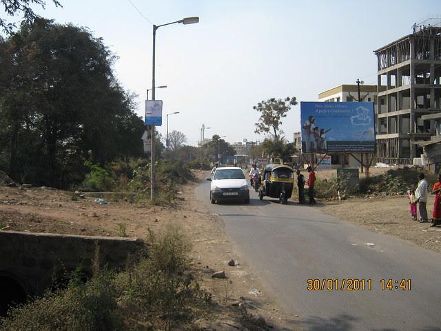 Visit to Pristine Pacific - 1 BHK & 2 BHK Flats in Datta-Nagar, Ambegaon Budruk - Katraj, Pune 411 046 - Narhe Katraj Road at the entrance of Pristine Pacific