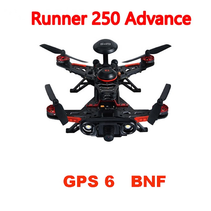 Walkera Runner 250 Advance BNF without Transmitter with 1080P Camera GPS OSD RC Racer Drone Quadcopter GPS 6 Version