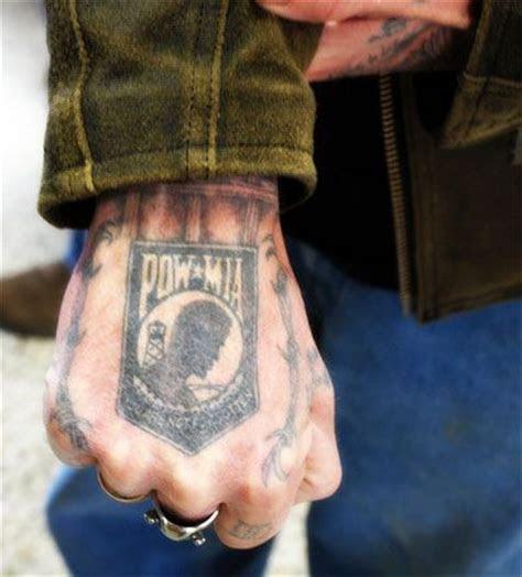vietnam pow mia navy seal tattoos military tattoos