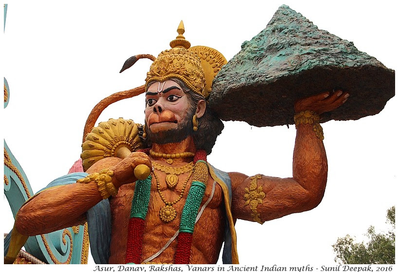 Encounters with diverse human species in Indian mythology