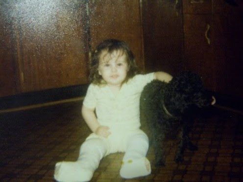 Me at around 2 with two broken legs