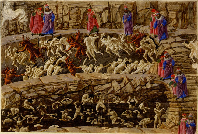Botticelli's Inferno
