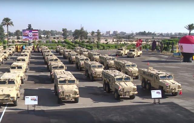 Egipto acepta la recepción de la segunda tanda de vehículos MRAP de Estados Unidos 640 001