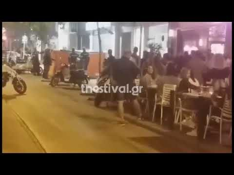 Θεσσαλονίκη: Μεθυσμένος πετούσε γλάστρες από μπαλκόνι σε θαμώνες μπαρ