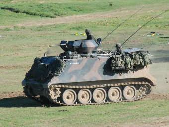 БТР M113B сухопутных войск Бразилии. Фото с сайта forte.jor.br