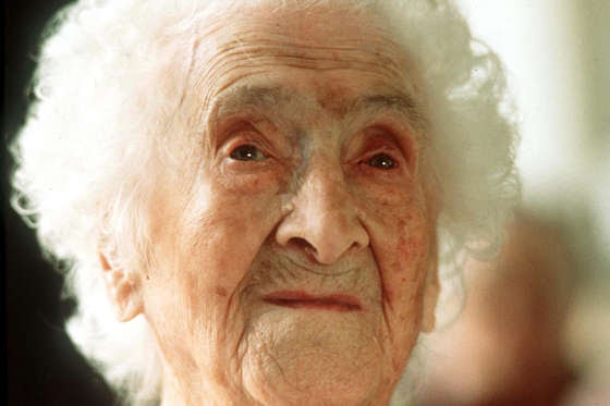 February 21, 1875 – August 4, 1997</p> <p>According to a report in the CNN, Jeanne Calment's attributed the success to her long life to olive oil, Port wine and her sense of humour.