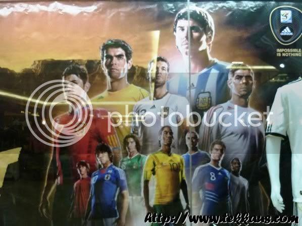 World Cup Fever, Original Jersey