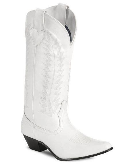 chalice white western wedding boots    bride