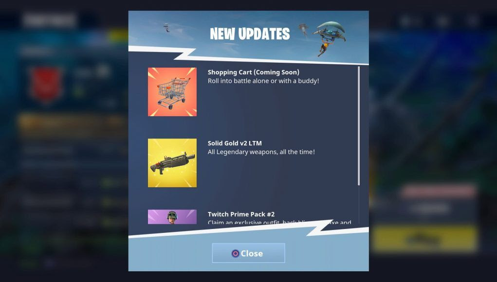 Fortnite Pack Twitch Prime