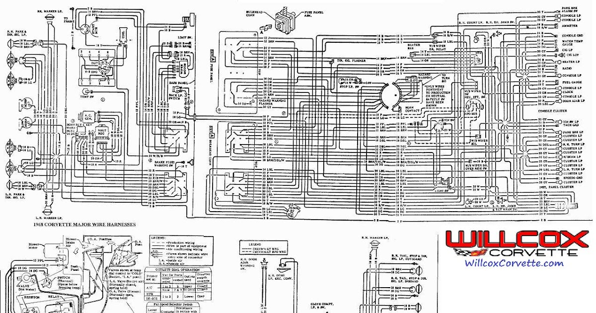 68 Corvette Wiring Diagram