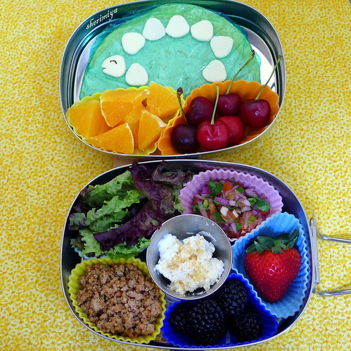 Deconstructed Taco Bento by sherimiya ♥