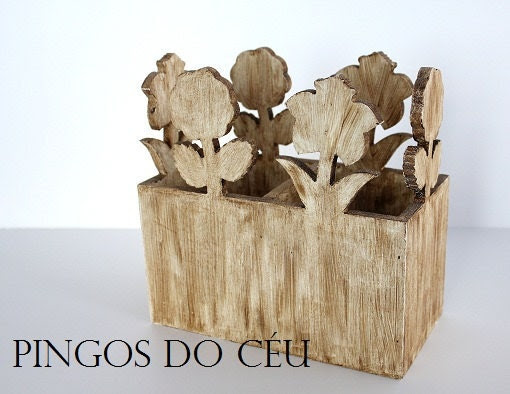 Rústico: Wood Box. Simple Beauty. For home. Home Decor. Country House. Rustic. Ready to ship. - shoppingosdoceu